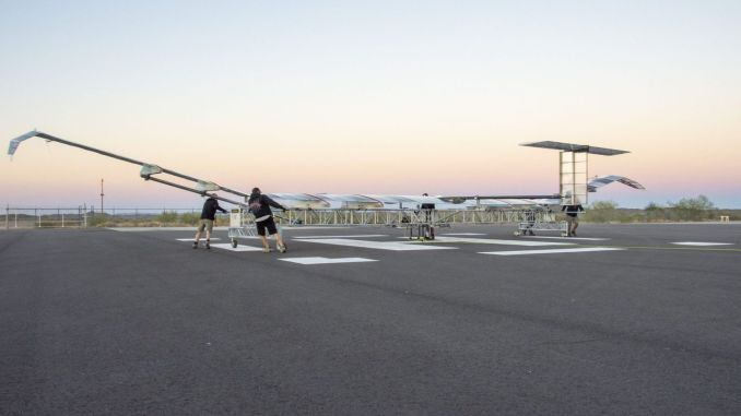 airbus zephyr successfully completed test lead in usa arizona