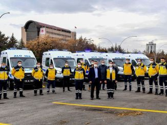 Ankara's large ambulance and dialysis vehicle fleet expanded