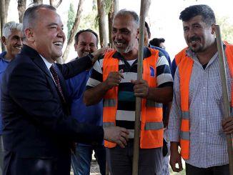 Minimumsgebyret var tusind lira i kommunen Antalya buyuksehir