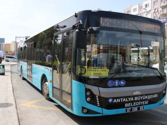 In Antalya, on the days of restriction, the vehicle will travel on the line