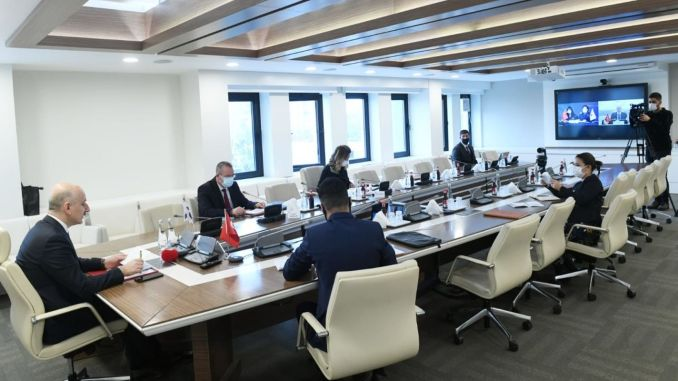 Minister Karaismailoglu met with his Korean position