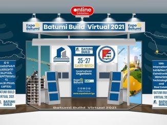 Batumi tecnologia de materiais de construção e feira imobiliária será realizada em ambiente virtual