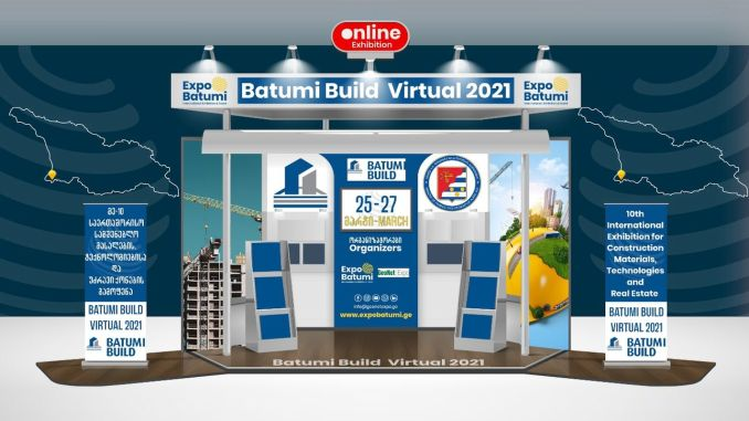 Batumi building materials technologies and real estate fair will be held in virtual environment