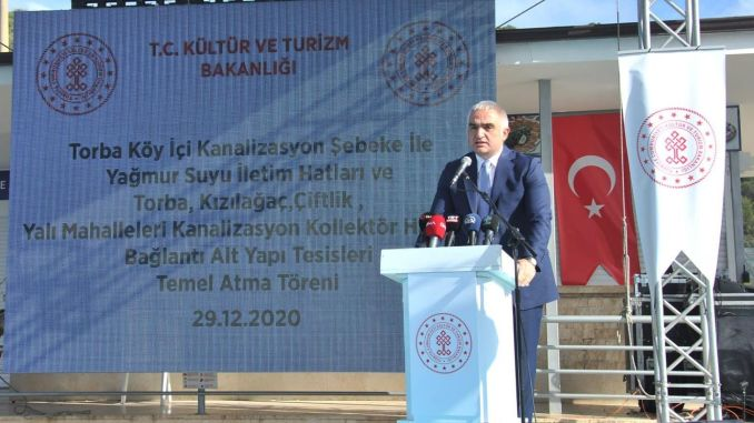 Infrastructure support for Bodrum tourism