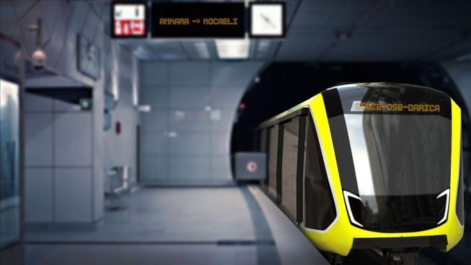 bozankaya Teken het contract voor het voertuig dat je gaat produceren voor de metro van Kocaeli