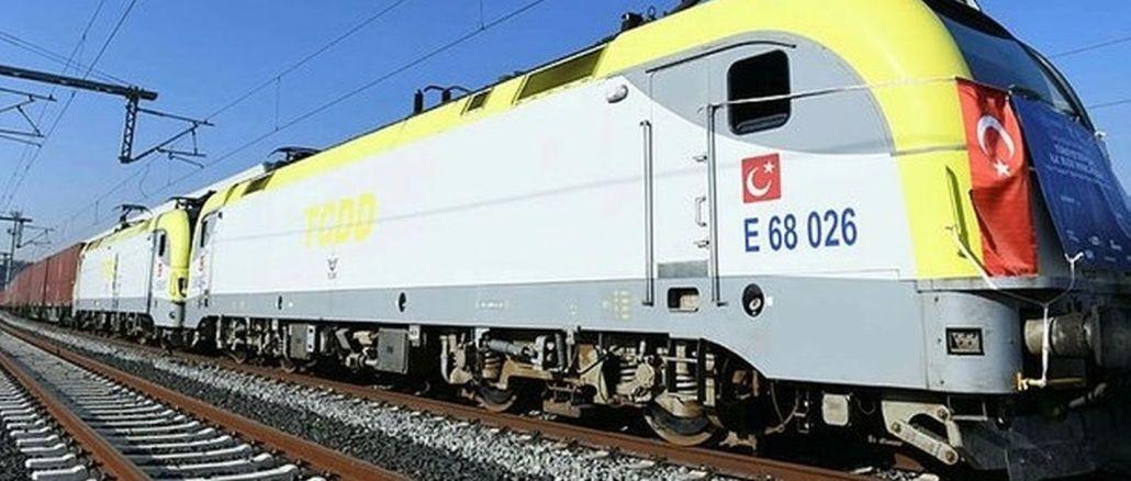 רכבת הייצוא הראשונה לסין חוזרת ממלטפה לגרינה הטבעתית