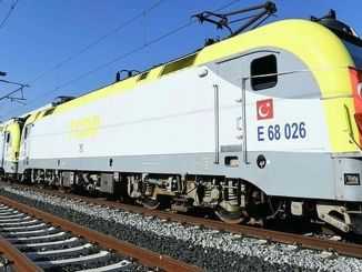 The first export train to Cine returns from Maltepe to Ringed Garina