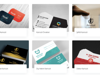 digital printing and business card