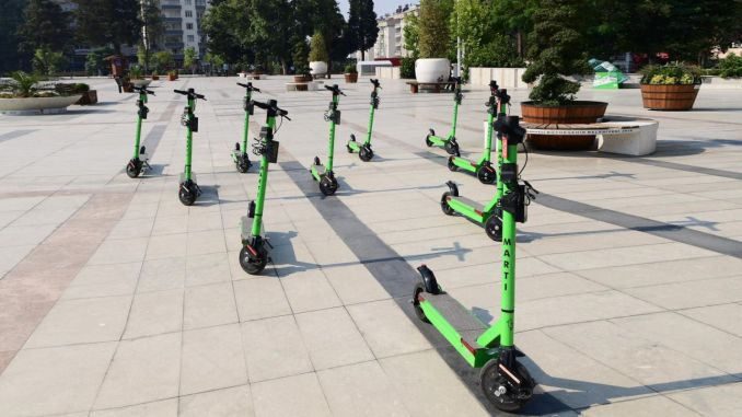 Children under the age of attention will not be able to use electric scooters