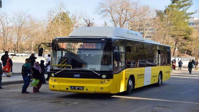В Диарбекир услугите за транспорт през уикенда ще продължат без прекъсване