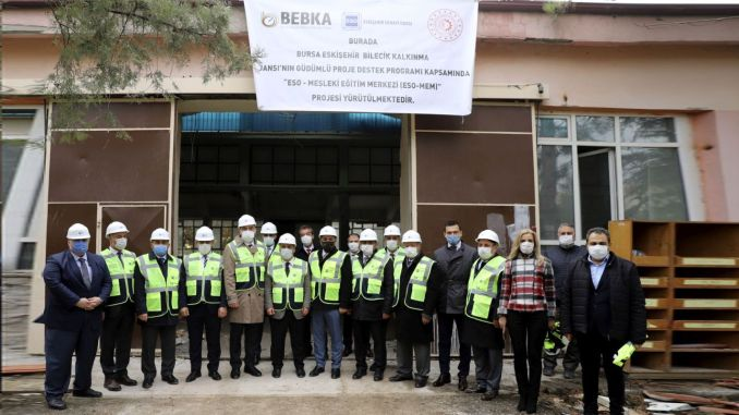 eskisehir chamber of industry vocational training center opens