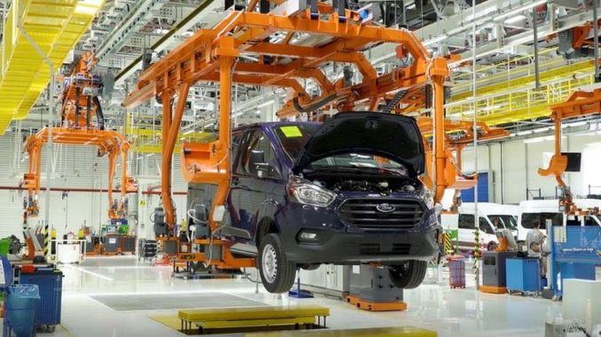 Ford Otosan turkiyenin вони почали працювати над створенням першого заводу збору акумуляторів