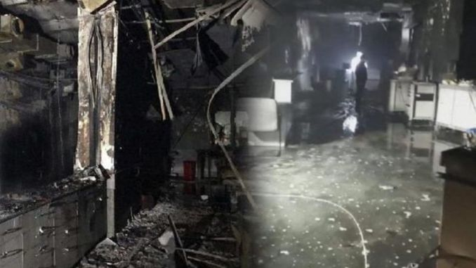 The number of deaths increased in the explosion in the hospital in gaziantep