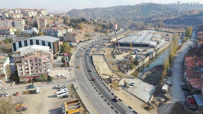 Raskrsnica mosta Haskoy kreće se punom brzinom