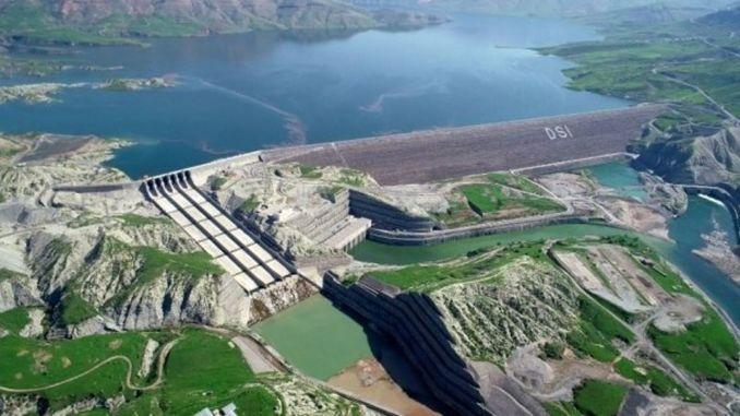 ilisu dam started electricity production at full capacity