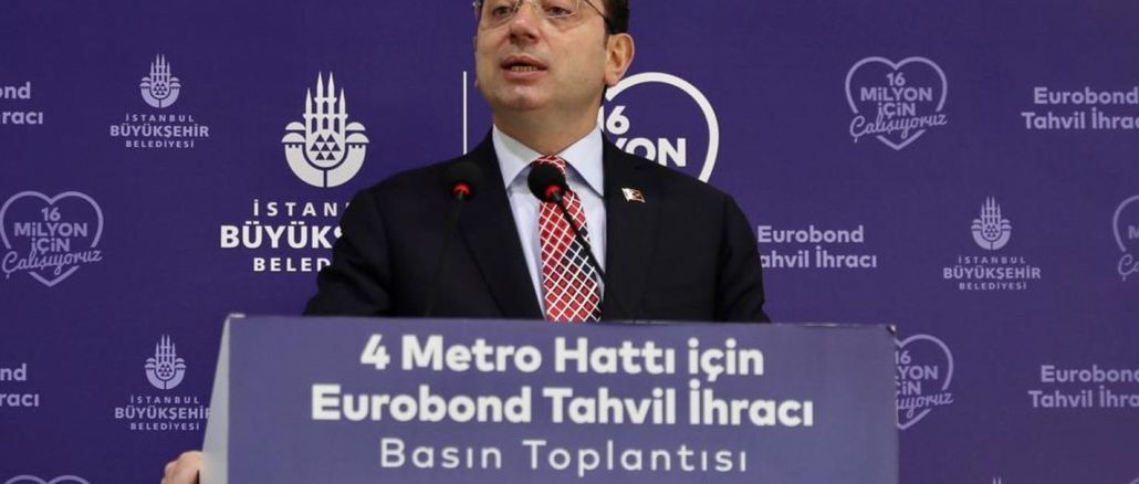 We will start the construction more quickly on the imamoglu metro line