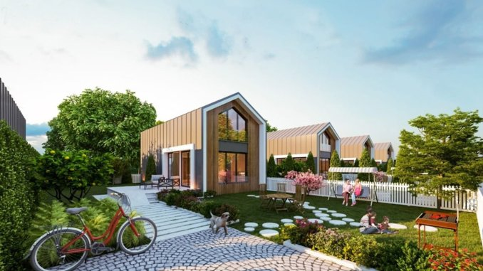 Demand for bahceli nature houses concept is increasing in istanbul
