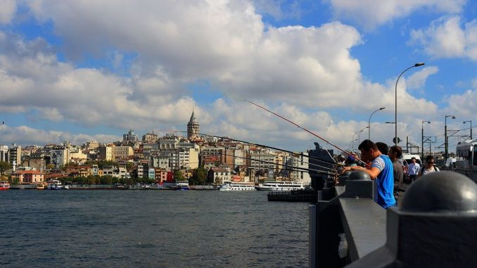 Places where fishing can be done in Istanbul