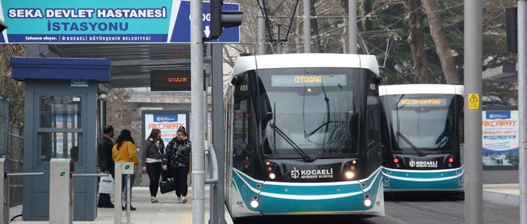 Losses taken in public transportation due to restrictions in Kocaeli