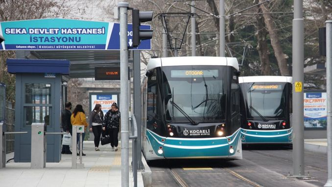Losses taken in public transportation due to restrictions in Kocaeli