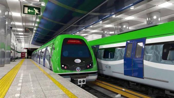 subway and subway station to konyali