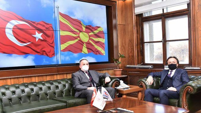 north macedonian delegation visited tcdd