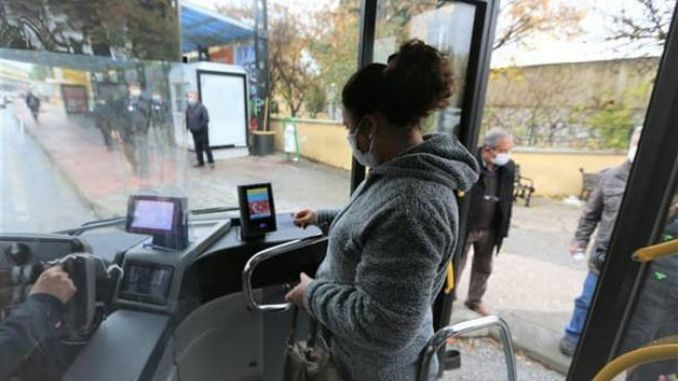 Account code application in public transportation started in mugla