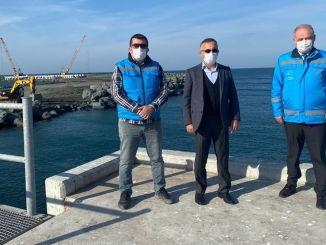 Prozent der Arbeiten an der Flughafeninfrastruktur von Rize Artvin abgeschlossen