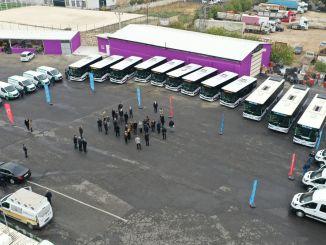 Het wagenpark van sanliurfa buyuksehir wordt sterker