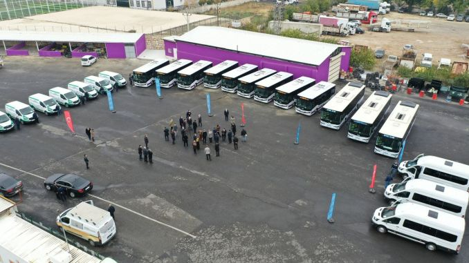 sanliurfa buyuksehir vehicle fleet gets stronger