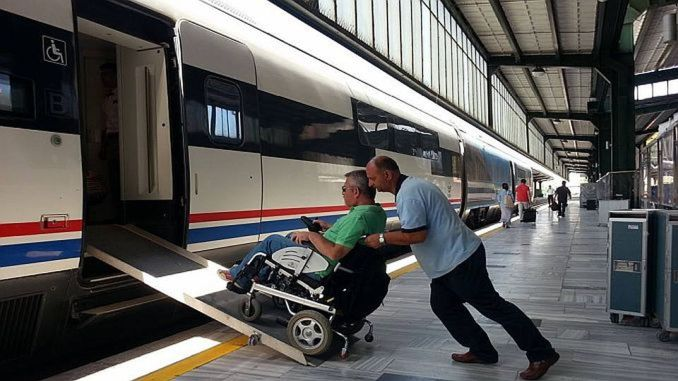 The institution that serves the highest number of disabled passengers in the tcdd transportation system