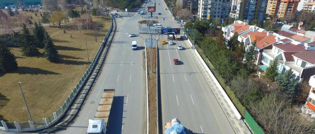The project that will breathe the traffic of Turan Gunes Boulevard is coming to life