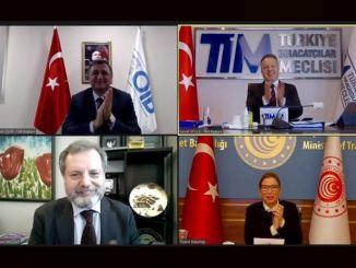 Exposição tridimensional de empresas automotivas turcas ao país