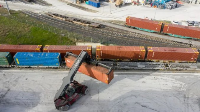second train will go to export genie appeared turkiyede road from cerkezkoy