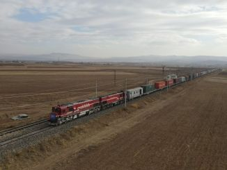 turkiyede prvi izvoz iz džina za kretanje vozova u Gruziji