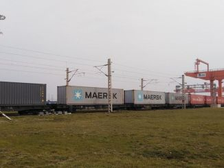 The first train of export has reached gin turkiyenin