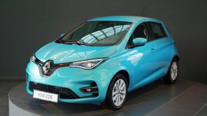 new Renault ZOE appeared in December about special rates for sale in Turkey