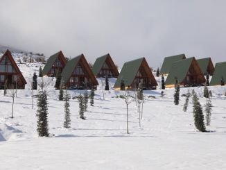A bungalow will be built in Yildiz Mountain Ski Center