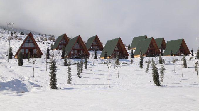 A bungalow will be built in Yildiz Mountain Ski Center