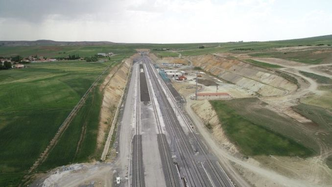 Billion lira more will be spent on the ankara sivas yht project, which has not ended for a year