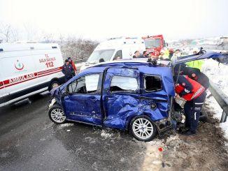 accidentele rutiere au scăzut cu puncte procentuale