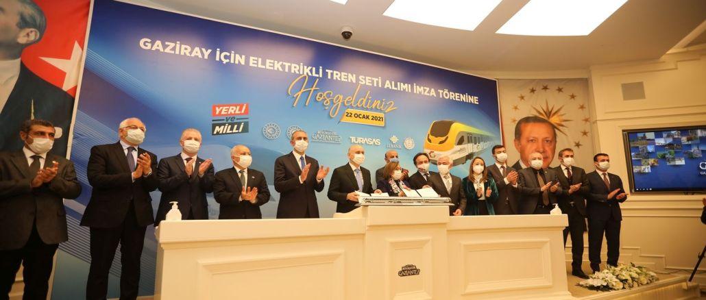 Milioane de trenuri europene vor funcționa pe linia GAZIRAY