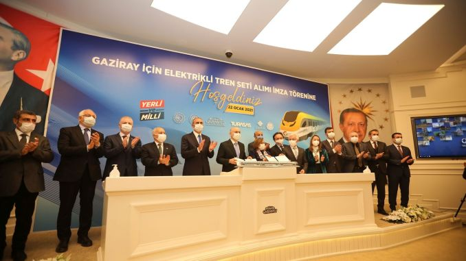 Million Euro Train Sets To Work On The GAZIRAY Line