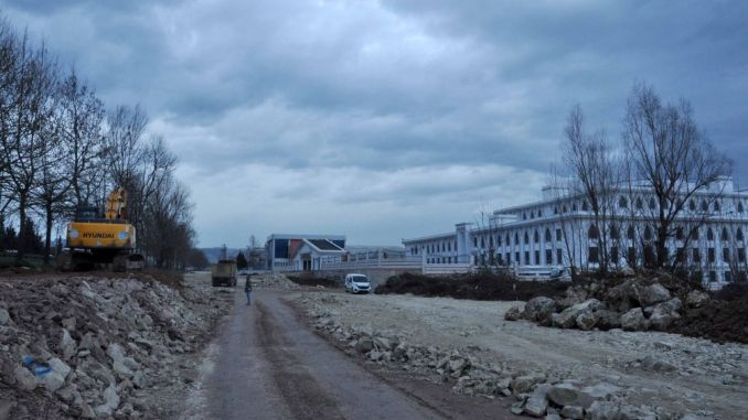 Kocaeli Provincial Police Office, Parking Lot and Environment Road to the New Building