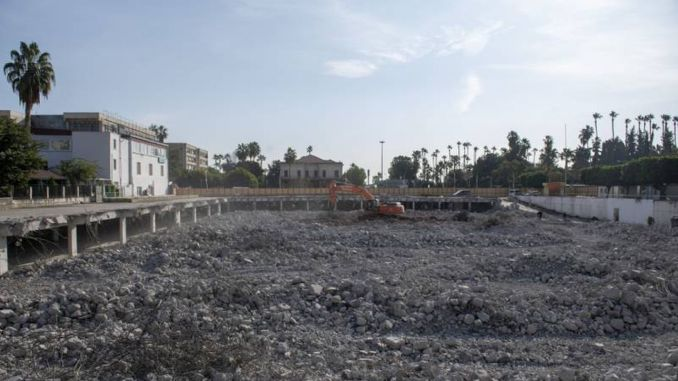 Multi-Storey Parking Works Continuing at Full Speed in Mersin