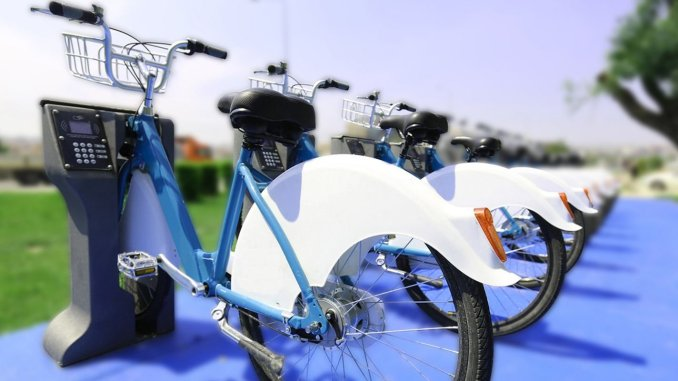 Smart bike application is coming to amasya