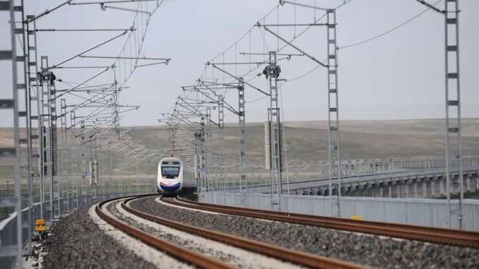 Performance tests of ankara sivas yht line started