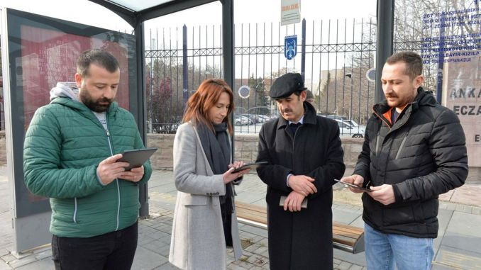 Free internet service will be provided to Ankara residents in mujde squares