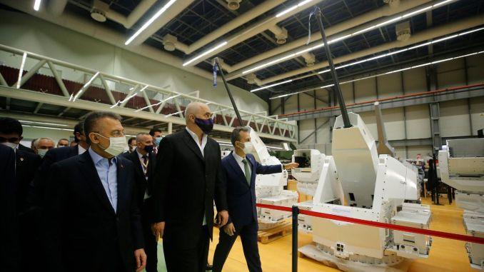 Guard uksters to be delivered by ASELSAN to Malaysia have been shown