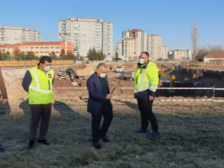 buyukkilic public transportation friendly mass intersection works on site